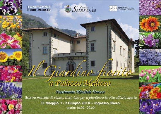Giardinia Pietrasanta Orario : Giardino fiorito a palazzo mediceo terre medicee